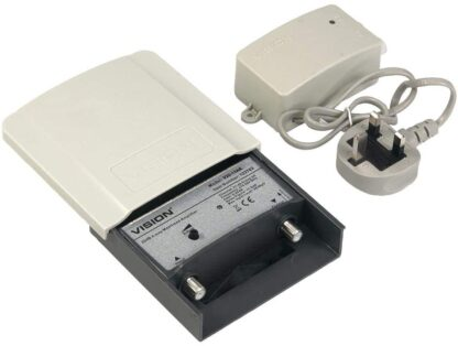 Vision V20-13AK Masthead TV Signal Amplifier
