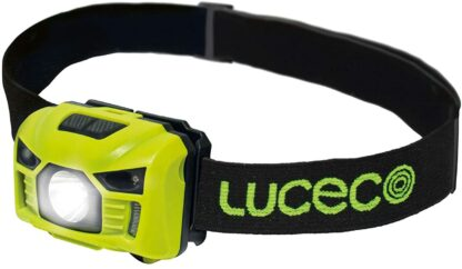 Luceco Rechargeable USB Head Torch