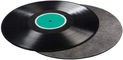 An economical tool for improving sound of vinyl records.