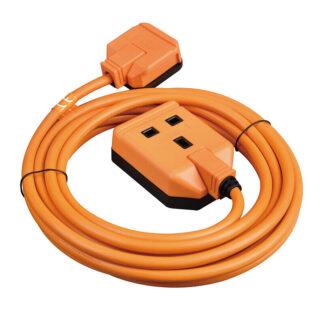 Masterplug Permaplug 5m Extension Lead Cable