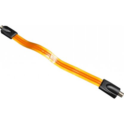 PROception Flat Coaxial Cable for TV with F-Plug Connections